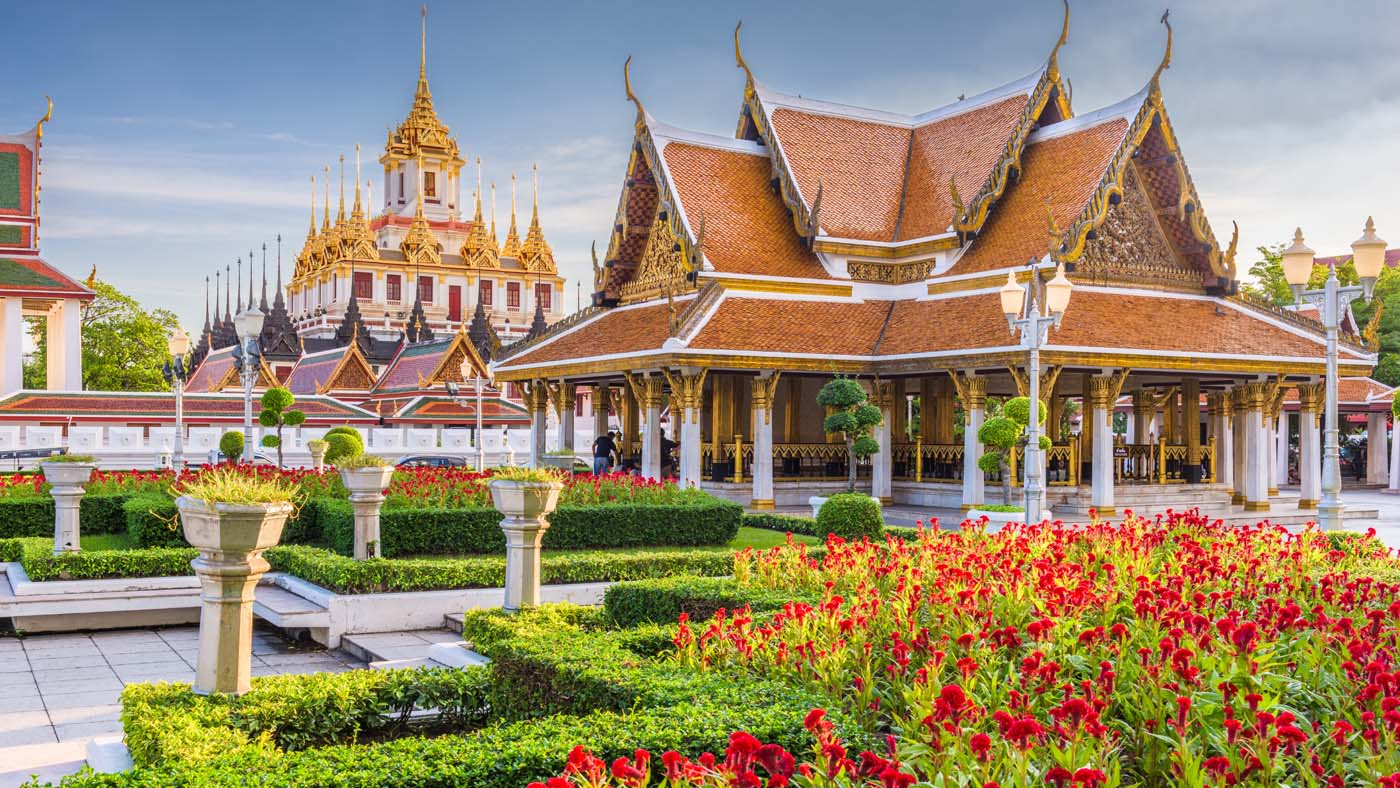 Wat Ratchanatdaram Temple in Bangkok, Thailand- sp-utazas